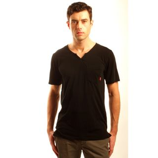 191 Unlimited Mens Slim Fit Moroccan Neck Tee