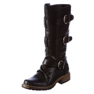 Rampage Womens Jaime Buckle Boots FINAL SALE