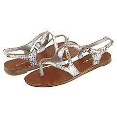 Madden Girl Kelliie Pewter Paris Sandals