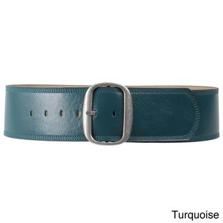 Journee Collection Womens Leather Belt
