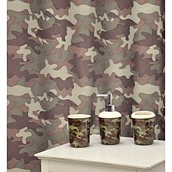 Camouflage Khaki Ceramic 16 piece Bath Accessory Set Today $30.10 4