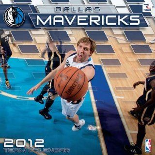 Dallas Mavericks 2012 Team Wall Calendar Sports