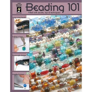 Beading 101 Instructional Book   Softcover 40 Pages