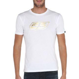 55DSL By Diesel T Shirt Gold Homme Blanc et doré   Achat / Vente T