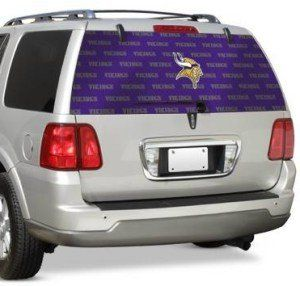 Minnesota Vikings Team Auto Rear Window Decal Sports