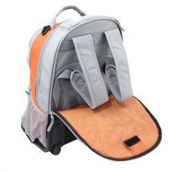 Wenger Swiss Gear Orange 18 inch Rolling Carry On Backpack