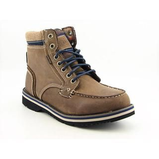 Nautica Mens Rich Leather Boots