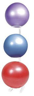 Power Systems Premium Stability Ball Rack Sports