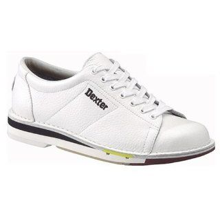 Dexter Mens SST 1 White Bowling Shoes Sports & Outdoors