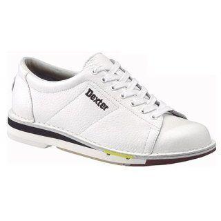 Dexter Mens SST 1 White Bowling Shoes
