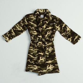 Calvin Klein Boys Camo Printed Robe