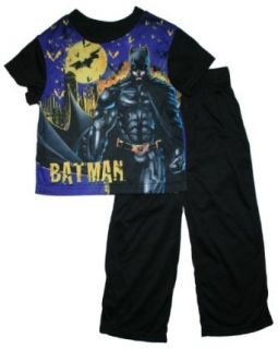 Batman the Dark Knight Rises Boys Pajama Set (Black, M 8