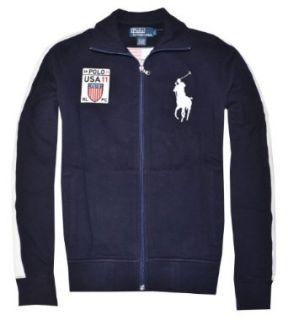 Polo Ralph Lauren Men Full Zip Big Pony Jacket   USA (S