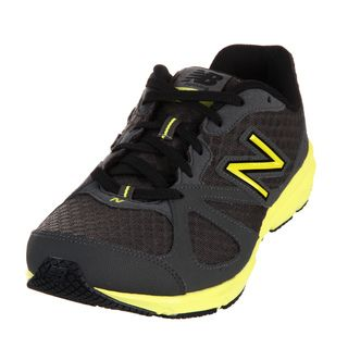 New Balance Mens 630 Grey/ Neon Yellow Athletic Shoes