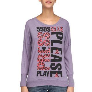 55DSL Tee Shirt Femme Parme   Achat / Vente T SHIRT 55DSL Tee Shirt