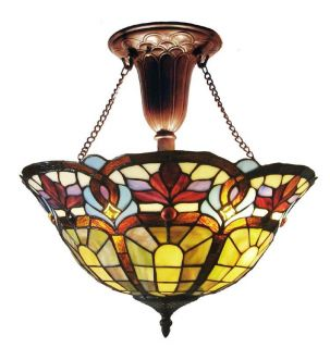 Tiffany style Victorian Bronze finish Hanging Fixture Today $109.99 4