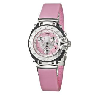Tissot Womens T Race Stainless Steel Rubber Chronograph Watch