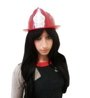 Hard Plastic Toy Firefighter Helmet Clothing