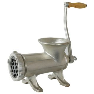 Hand operated 5 pound Cast Iron Meat Grinder