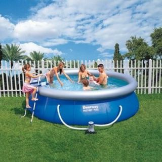 Piscine Bestway Fast Set Pool 4.57 x 0.91m   Achat / Vente KIT PISCINE