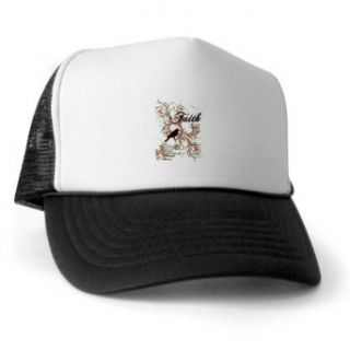 Artsmith, Inc. Trucker Hat (Baseball Cap) Faith Dove