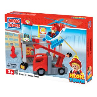 Mega Bloks BlokTown Rescue Center Play Set