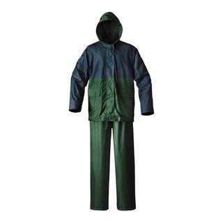 Cedar Keys Blue/Green Explorer 2 piece Rain Suit