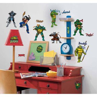 Teenage Mutant Ninja Turtle Peel & Stick Applique Wall Decals