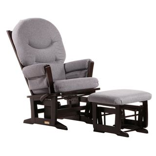 Dutailier Ultramotion Espresso/ Dark Grey Multiposition Reclining