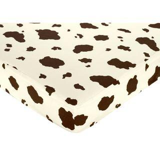 Sweet JoJo Designs Wild West Cowboy Fitted Crib Sheet