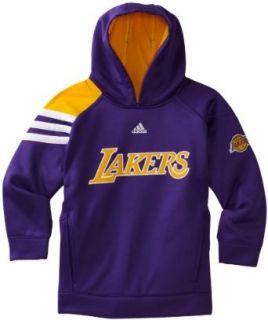 NBA Los Angeles Lakers On Court Long Sleeve Popover Fleece