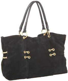 MAXX NEW YORK Hepburn Large Ring Tote,Black,one size Shoes