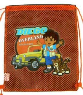 Nick Jr. Diego the Rescuer Drawstring Back Sack [Apparel