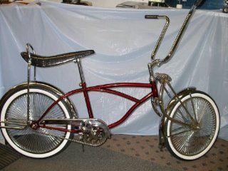 Lowrider Bike Brand New ,Burgandy 140 Spokes New: Sports