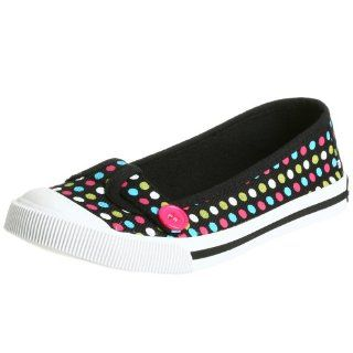 Little Kid/Big Kid Abbie G I Flat,Black,2 M US Little Kid Shoes