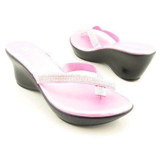 WHITE MOUNTAIN Georgette Pink Sandals Shoes Womens 8 Shoes