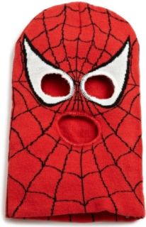 Spiderman Boys 8 20 Face Mask, Red, One Size Clothing