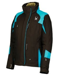 Spyder Womens Energy Jacket, Coffee, 4: Clothing