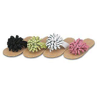 Little Girls Shoes Curly Pom Summer Sandals 7 4 IM Link Shoes