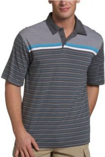Dickies Mens Short Sleeve Jersey Stripe Polo Shirt