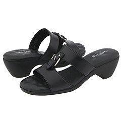 Walking Cradles Zorro Black Leather Sandals