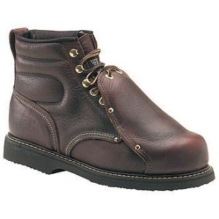Carolina Mens Met Guard Safety Leather Boot Shoes