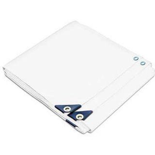 Heavy duty White UV protected Tarp (58.6 x 59.2 feet)