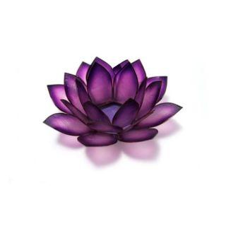 Capiz Shell Lotus Paradise Passion Tea Light (Philippines)