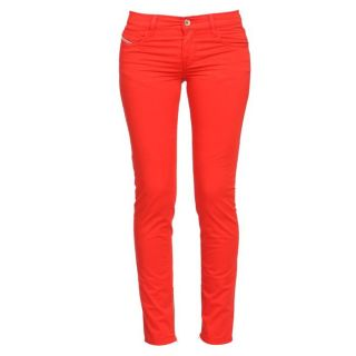 DIESEL Pantalon Femme Rouge.   Achat / Vente PANTALON DIESEL Pantalon