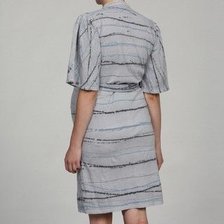 Nuka Womens Maternity Grey Shirt Dress