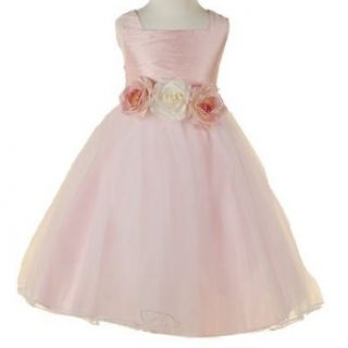 New Little Girls PINK Flower Girl Dress KIDS DREAM 10
