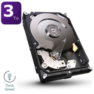 Disque dur interne   Capacité 3To (3000 Go)   7200 trs/min (OptiCache