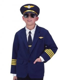 Jr. Airline Pilot with Cap, size 4/6: Clothing