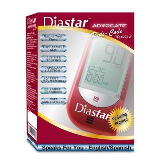 Diastar Advocate Redi Code Blood Glucose Monitor